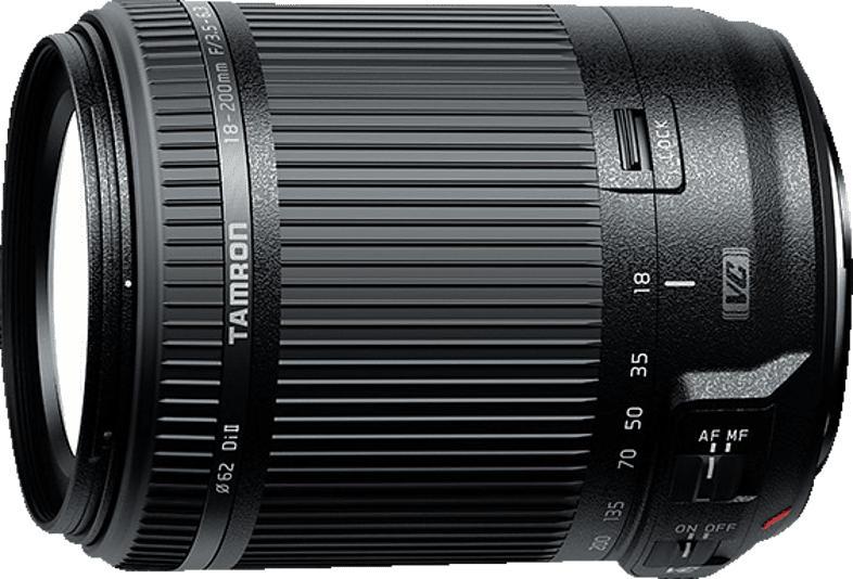 TAMRON B018S 18 mm-200 mm f/3.5-6.3 Di II, VC (Objektiv für Sony A-Mount, Schwarz)