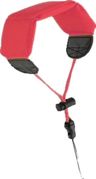 S+M digiGO Schwimm /Handgurt für ACTIONCAMS, Schwimmtragegurt, Rot, passend für GoPro im Standardgehäuse (M40)