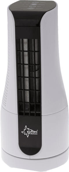 SUNTEC 13133 Cool Breeze Sensation Desk+ Turmventilator Weiß/Schwarz (16 Watt)