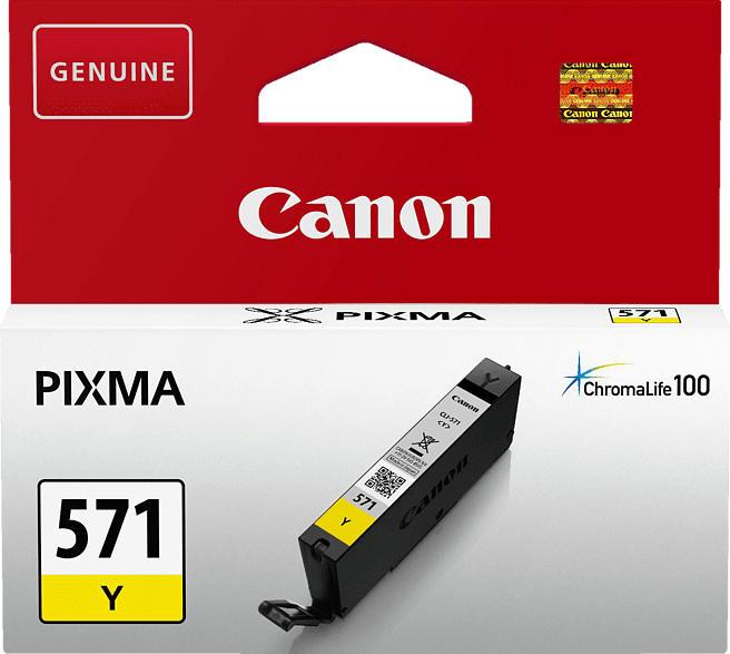 CANON CLI 571 Y Tintenpatrone Gelb (0388C001)
