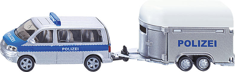 SIKU PKW mit Pferdeanhänger PKW Miniaturen, Mehrfarbig
