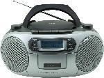 Media Markt SOUNDMASTER SCD7900SW Boombox mit Kassettendeck Radio (Schwarz/Silber)