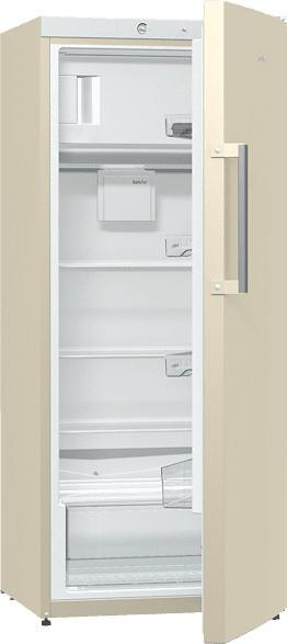 GORENJE RB6153BC  Kühlschrank (A+++, 124 kWh/Jahr, 1450 mm hoch, Hellbeige)