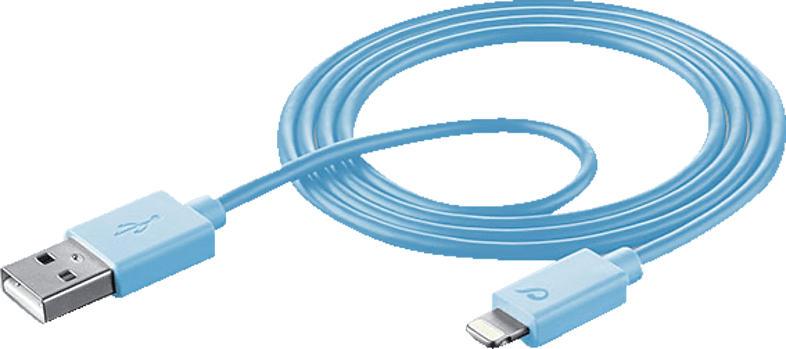CELLULAR LINE 36914, Datenkabel, 1 m, Blau