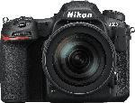 MediaMarkt NIKON D500 Kit Spiegelreflexkamera, 20.9 Megapixel, 4K, Full HD, HD, 16-80 mm Objektiv (VR, DX), Touchscreen Display, Schwarz