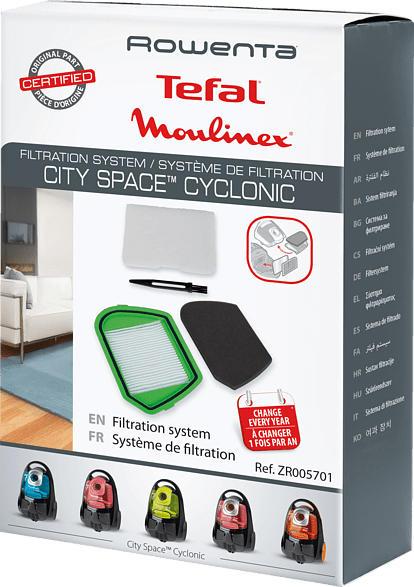 ROWENTA ZR005701 Filtersystem City Space Cyclonic, Filtersystem