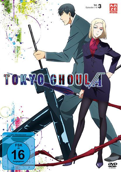 Tokyo Ghoul A (2. Staffel) - Vol. 3 [DVD]