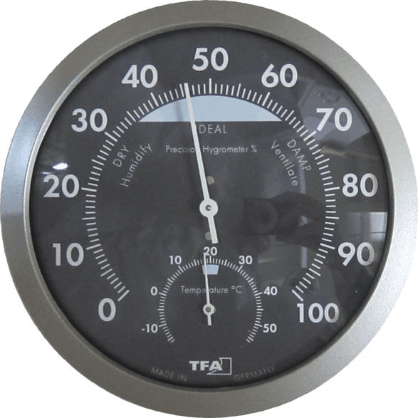 TFA 45.2043.51 Analoges  Thermo-Hygrometer