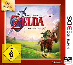 The Legend of Zelda: Ocarina of Time 3D (Nintendo Selects) [Nintendo 3DS]