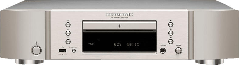 MARANTZ CD6006 CD-Player (Silber-Gold)