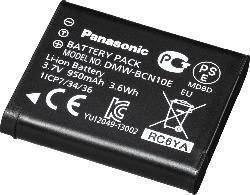 PANASONIC DMW-BCN10E9 Akku  , Li-Ion, 3.7 Volt, 950 mAh