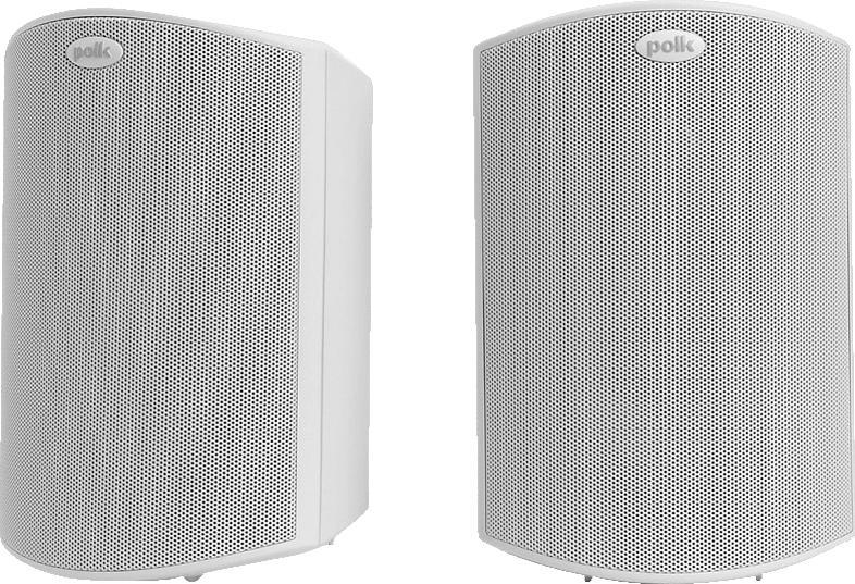 POLK AUDIO Atrium 5 1 Stück Outdoor Lautsprecher (Weiß)