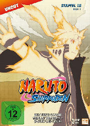 NARUTO SHIPPUDEN 15.STAFFEL 1. BOX (541-554) [DVD]
