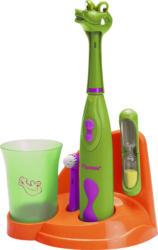 BESTRON Crazy Croc elektrische Zahnbürste Grün