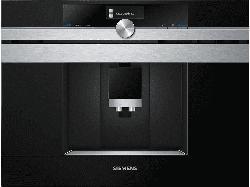 SIEMENS CT636LES6 Einbaukaffeevollautomat, Edelstahl