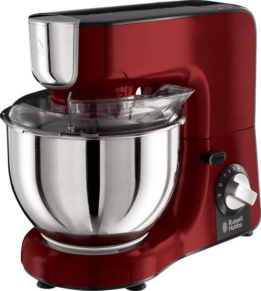 RUSSELL HOBBS 23480-56 Desire Küchenmaschine Rot/Schwarz 1000 Watt