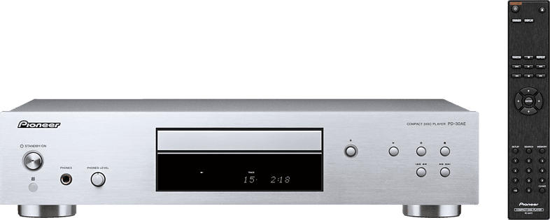 PIONEER PD-30 AE-S CD-Player (Silber)