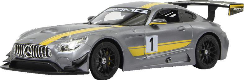 JAMARA Mercedes AMG GT3 Performance 1:14 Akku 40MHz ferngesteuertes Auto, Grau