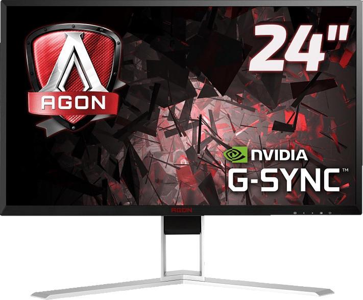 AOC AGON AG241QG 23.8 Zoll QHD Gaming Monitor (1 ms Reaktionszeit, G-SYNC, 144 Hz)