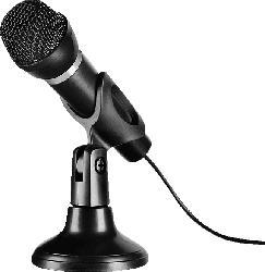 SPEEDLINK CAPO - USB Tisch- und Handmikrofon PC, Mikrofon, Schwarz
