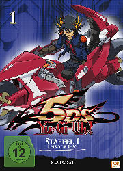 Yu-Gi-Oh! 5Ds - Staffel 1 (Episode 1-26) [DVD]