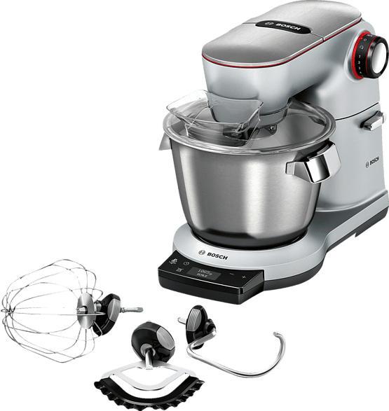 BOSCH MUM9AX5S00 Küchenmaschine Platinsilber 1500 Watt