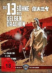 Die 13 Söhne des gelben Drachen [Blu-ray]