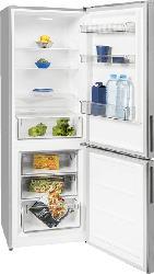 EXQUISIT KGC 320/90-4 A++ Kategorie 7 Kühlgefrierkombination (A++, 216 kWh/Jahr, 1860 mm hoch, Inoxlook)