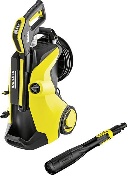 KÄRCHER 1.324-630.0 K5 Premium Full Control Plus Hochdruckreiniger, Gelb/Schwarz