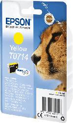 EPSON Original Tintenpatrone Gepard Gelb (C13T07144012)