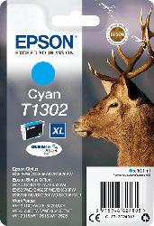 EPSON Original Tintenpatrone Hirsch Cyan (C13T13024012    )