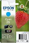 MediaMarkt EPSON Original Tintenpatrone Erdbeere Cyan (C13T29824012)