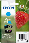 MediaMarkt EPSON Original Tintenpatrone Erdbeere Cyan (C13T29924012)