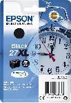 MediaMarkt EPSON Original Tintenpatrone Wecker Schwarz (C13T27114012)