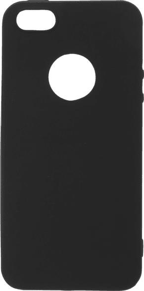 V-DESIGN VMT 015 , Backcover, Apple, iPhone 5, iPhone 5S, iPhone SE (2016), Thermoplastisches Polyurethan, Schwarz