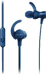 SONY MDR-XB510AS, In-ear Kopfhörer  Blau