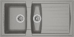 RESPEKTA Mineralite Boston 100 x 50 Spüle (500 mm)