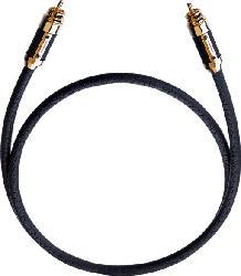 OEHLBACH XXL Black Connection Digitalkabel 1.50 m Cinchkabel, Schwarz