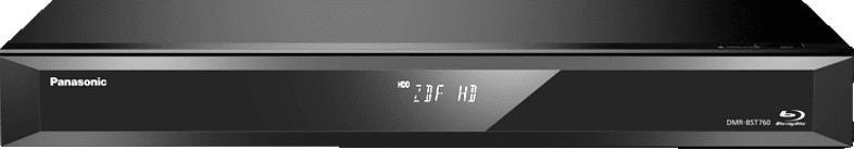 PANASONIC DMR-BST760EG Blu-ray Recorder 500 GB, Schwarz