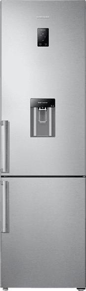 SAMSUNG RB37J5925SS/EF  Kühlgefrierkombination (A++, 258 kWh/Jahr, 2010 mm hoch, Edelstahl)