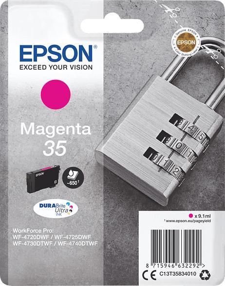 EPSON Original Tintenpatrone Schloss Magenta (C13T35834010    )