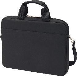 DICOTA Slim Case BASE Notebooktasche, Umhängetasche, Schwarz