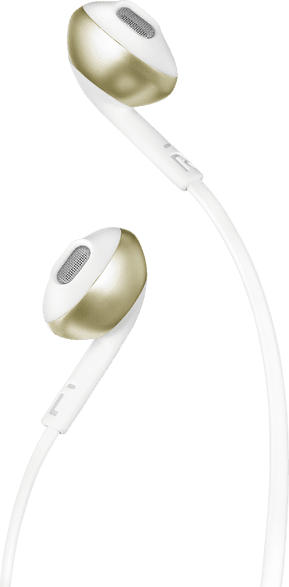 JBL T205, In-ear Kopfhörer  Champagne