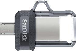 SANDISK Ultra® Dual USB-Laufwerk m3.0  128 GB