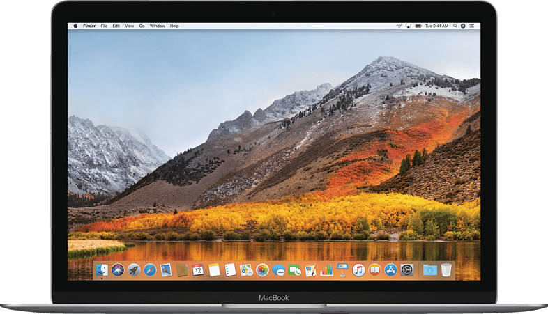 APPLE MacBook mit britischer Tastatur, Notebook mit 12 Zoll Display, Core i5 Prozessor, 8 GB RAM, 256 GB Flash, Intel® HD-Grafik 615, Space Grey