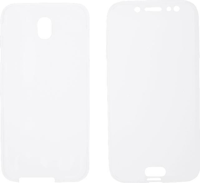 V-DESIGN V-LV 029 , Full Cover, Samsung, Galaxy J7 (2017), Thermoplastisches Polyurethan, Transparent