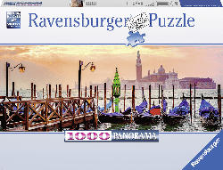 RAVENSBURGER Gondeln in Venedig Puzzle, Mehrfarbig