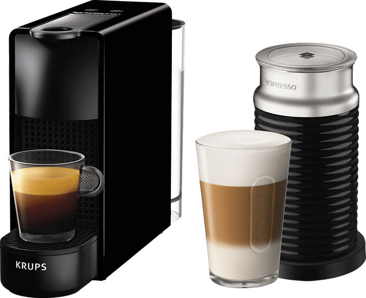 KRUPS XN1118 Nespresso Essenza Mini Kapselmaschine, Schwarz