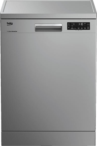 BEKO DFN26420S  Geschirrspüler (Freistehend mit Unterbaumöglichkeit, 600 mm breit, 46 dB (A), A++)