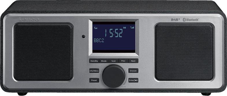 LENCO DAR-015BK, Radio